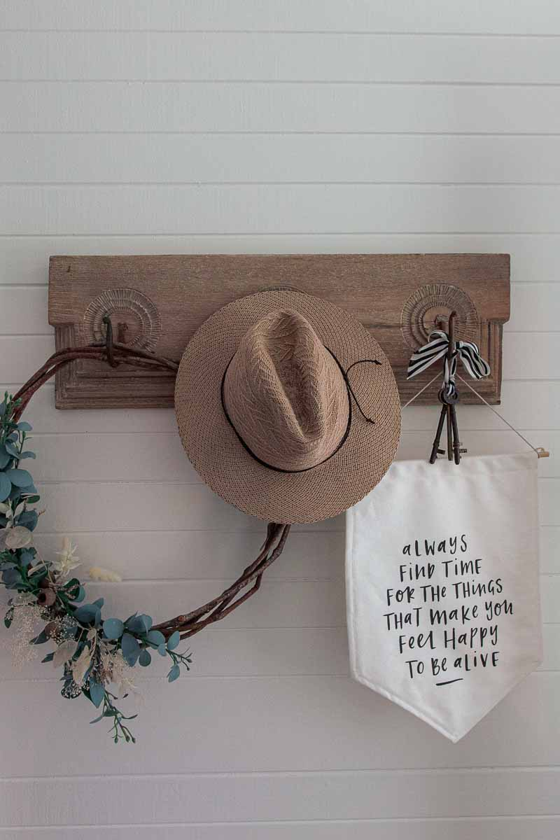 Airbnb hat stand