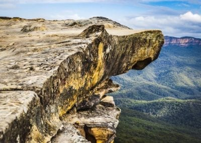 Kings Tableland Sandstone With Mount Solitary