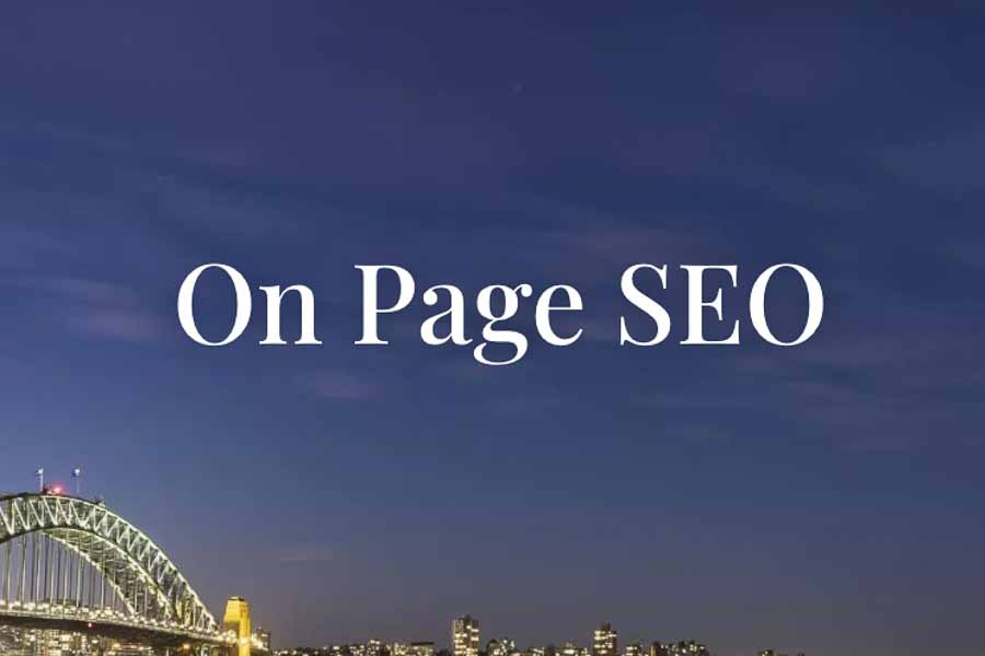 Increase Your Rankings With On Page SEO