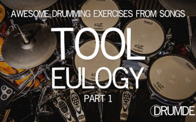Tool Eulogy Drum Lesson